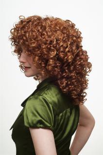 Damenperücke Perücke Lockenpracht lockig voluminös Rot Blond Mischung 350/144 - Vorschau 3