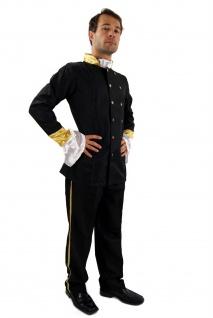 Kostüm Südstaaten Uniform Offizier Zar Russland Unabhängigkeit Amerika K27 NEU - Vorschau 3