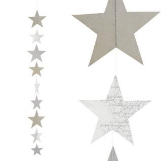 Kette Sterne Weihnachtszauber 100cm von Räder Design