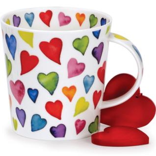 Cairngorm Warm Hearts Becher von Dunoon 480ml