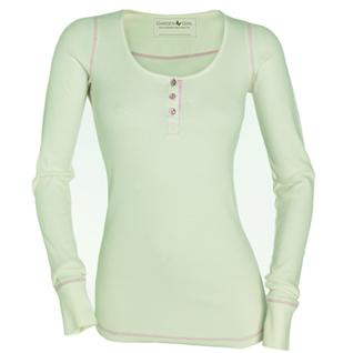 Langarm Shirt cremeweiß von GardenGirl Gr. M - Vorschau 1