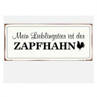 Wandbild Zapfhahn 30x13cm