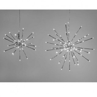 Hänger Kugel 40 LED Lichter 30cm