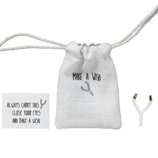 Herzstücke Kleine Tasche mit Wünschelrute Glücksbringer von Räder Design