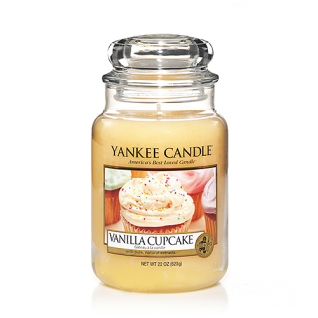 Yankee Candle VANILLA CUPCAKE Duftkerze Classic groß