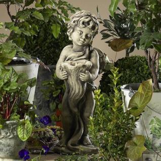 Engel Michael Gartenskulptur 45cm von Zauberblume