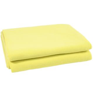 Neon Green Decke Soft Fleece von Zoeppritz