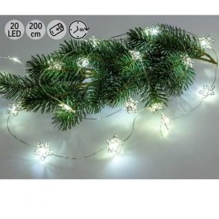 Lichterkette LED 20 Sterne klein