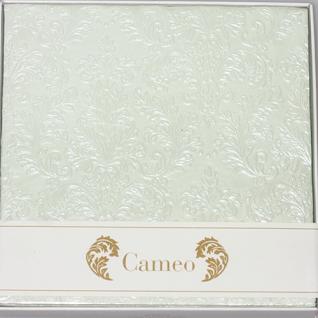 Cameo hellgrün Cocktail mit Relief von IHR