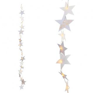 Kette Sternenlichter LED gold 1m Weihnachtszauber von Räder Design