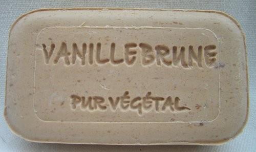 Vanille mit Schotenstücken Naturseife Savonnerie de Bormes Provence 100g