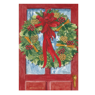 Red Door Wreath Duftsachet weihnachtlicher Duft groß von Willowbrook