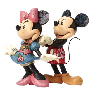 For My Sweetheart Mickey & Minnie Mouse 14, 5cm Disney Traditions Jim Shore