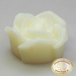Rose klein Florex Schafmilchseife Duft natur 54g - Vorschau