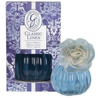 Classic Linen Flower Diffuser von Greenleaf