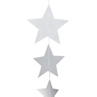 Sternenkette transparent blanco 50 cm X-mas Räder Design