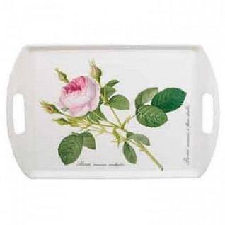 Tablett Melamin 30x45cm Redoute Rose Roy Kirkham