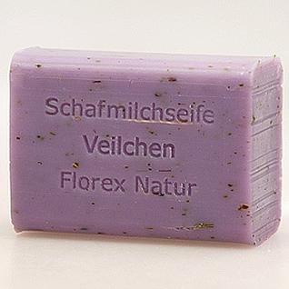 Veilchen Florex Schafmilchseife mit Kräutern 100g - Vorschau 1