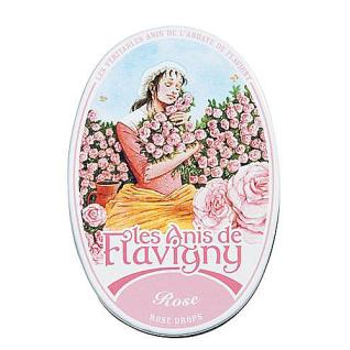 Pastillen Dose Rose Les Anis de Flavigny 50g