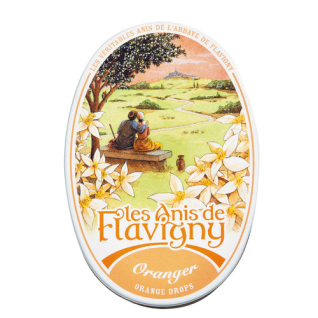 Pastillen Dose Oranger Les Anis de Flavigny 50g
