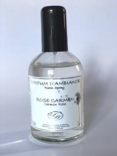 Rose Carmen Raumspray der Savonnerie de Bormes Provence 100ml