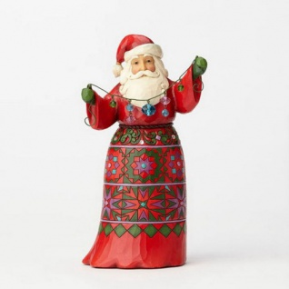 Santa Musical Weihnachtsmannfigur 26, 5cm Jim Shore