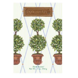 English Ivy Round Topiary Duftsachet würzig frischer Duft groß von Willowbrook