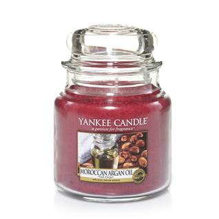 Yankee Candle MOROCCAN ARGAN OIL Duftkerze Classic klein