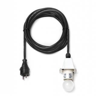 5m Kabel weiss E27 für 1 Stern A4 / A7 LED original Herrnhuter
