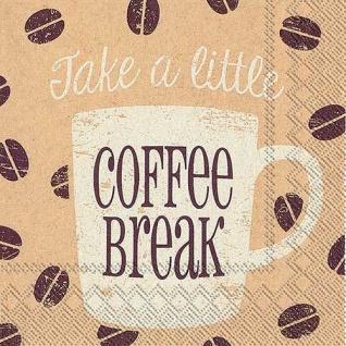 Take a coffee break Cocktail Serviette von IHR