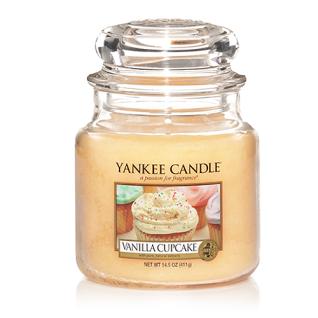 Yankee Candle VANILLA CUPCAKE Duftkerze Classic mittel