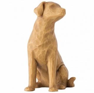 Ich liebe meinen Hund Love my dog hell Figur von Willow Tree
