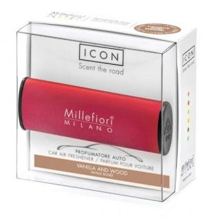 Vanilla & Wood Autoduft Icon CLASSIC red Millefiori