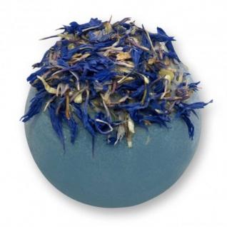 Badebutter-Kugel Blaubeere-Granatapfel von Florex 50g