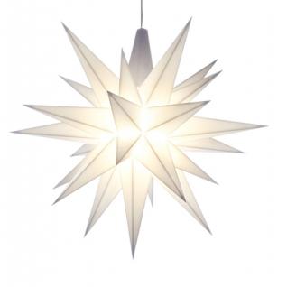 8cm Miniatur Stern weiß einzeln LED original Herrnhuter