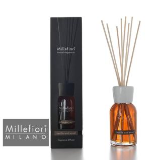 Vanilla und Wood Stick Diffusor 100ml Millefiori Milano