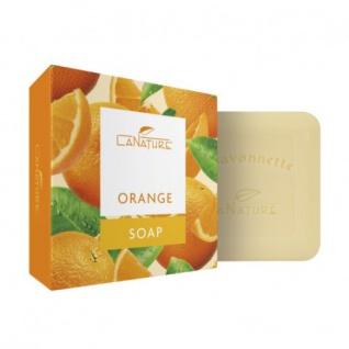 Orange La Savonette Pflanzenölseife 100g von LaNature