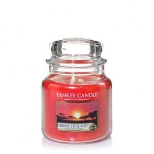 Yankee Candle SERENGETI SUNSET Duftkerze Classic mittel