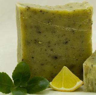 Zitronenmelisse kaltgerührt Schafmilchseife von Florex - Vorschau 1