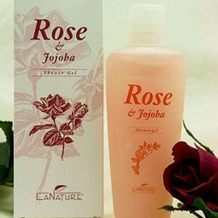 Rose Duschgel 200 ml von LaNature