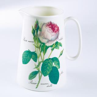 Wasserkrug gross Redoute Roses Roy Kirkham 750ml