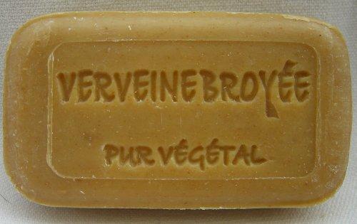 Verbene mit Blättern Naturseife Savonnerie de Bormes Provence 100g