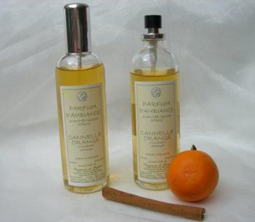 Orange-Zimt Raumspray von Savonnerie de Bormes Provence 100ml