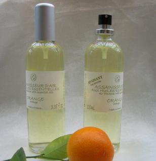 Orange Raumspray der Savonnerie de Bormes Provence 100ml - Vorschau