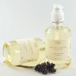 Lavendel Flüssigseife Savonnerie de Bormes 250 ml