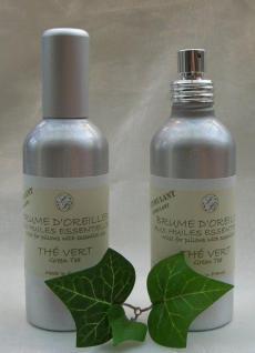 Grüner Tee Duft für Textilien Savonnerie de Bormes 100ml