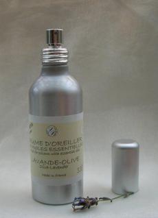 Lavendel-Olive Duft für Textilien Savonnerie de Bormes 100ml