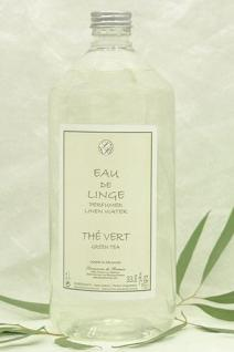 Grüner Tee Bügelwasser Eau de Linge Savonnerie de Bormes 1 L