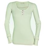 Langarm Shirt cremeweiß von GardenGirl Gr. M