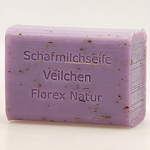 Veilchen Florex Schafmilchseife mit Kräutern 100g